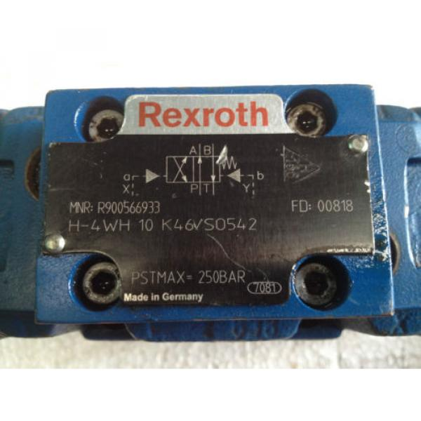 REXROTH VALVE MNR: R900566933 #3 image