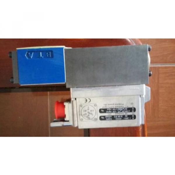 Bosch 0811-404-602 Proportional Valve Rexroth 4WRPEH6C3B24L-2X/G24K0/A1M Origin #1 image