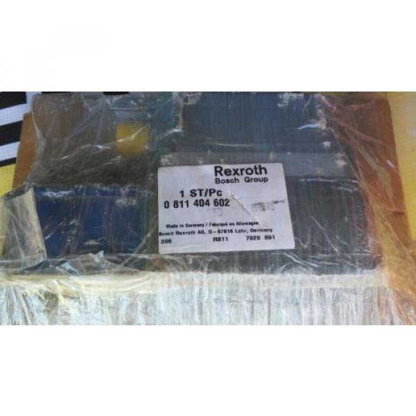 Bosch 0811-404-602 Proportional Valve Rexroth 4WRPEH6C3B24L-2X/G24K0/A1M Origin #2 image