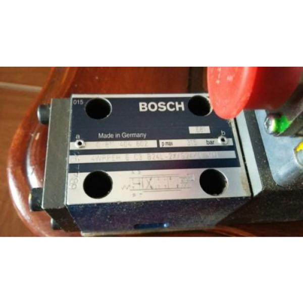 Bosch 0811-404-602 Proportional Valve Rexroth 4WRPEH6C3B24L-2X/G24K0/A1M Origin #3 image