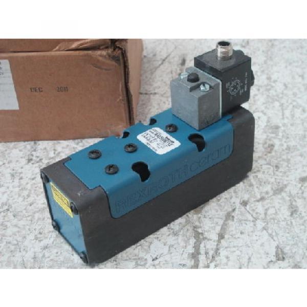 REXROTH R432006112  24VDC 4-PIN VALVE Origin NO BOX #2 image