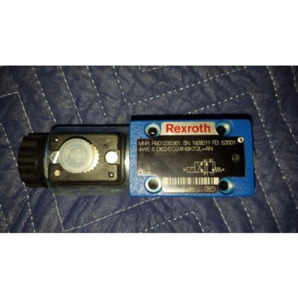 Rexroth Hydraulic Valve 4WE6D62/EG24N9K72L=AN    R901235361 #1 image
