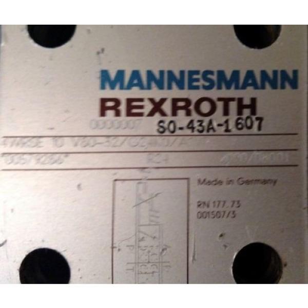 Rexroth 4WRSE-10-V80-32/G24K0/A1VR Servo Valve Mannesmann #3 image