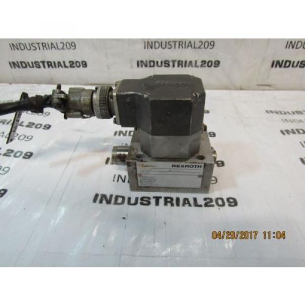 REXROTH SERVO VALVE 3DS2EH10-24/A2X140Z8M USED #1 image