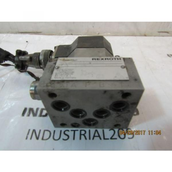 REXROTH SERVO VALVE 3DS2EH10-24/A2X140Z8M USED #2 image