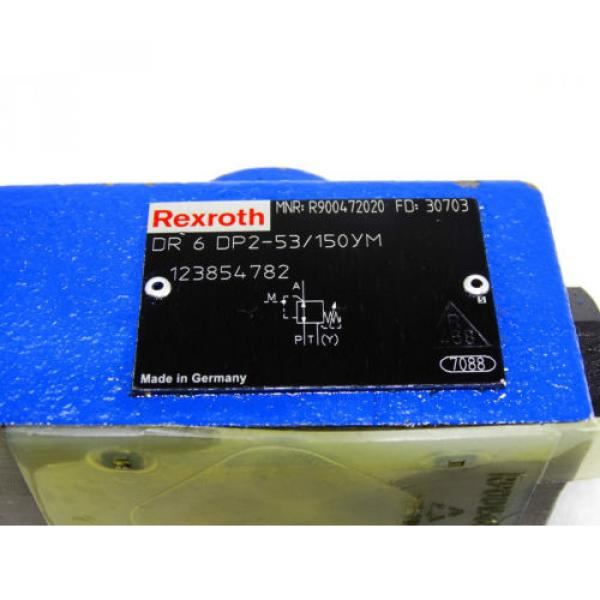 Rexroth Bosch R900472020 / DR 6 DP2-53/150YM ventil reducing valve  /  Invoice #2 image