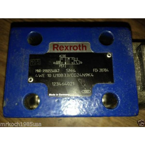 NOS REXROTH R900588201 HYDRAULIC DIRECTIONAL CONTROL VALVE #2 image