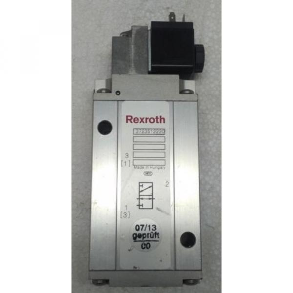 3723512220 REXROTH PNEUMATICS 3/2 WAY SOLENOID VALVE 24VDC Aventics Wabco Marine #1 image