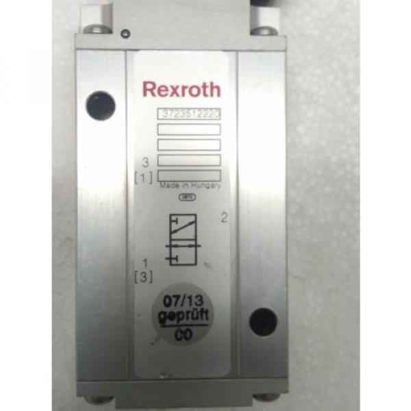 3723512220 REXROTH PNEUMATICS 3/2 WAY SOLENOID VALVE 24VDC Aventics Wabco Marine #2 image