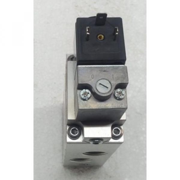 3723512220 REXROTH PNEUMATICS 3/2 WAY SOLENOID VALVE 24VDC Aventics Wabco Marine #7 image