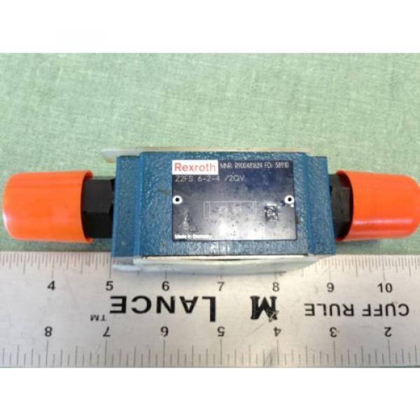 REXROTH HYDRAULIC CHECK VALVE  Z2FS 6-2-4/2QV MNR R900481624 FD 38910 #1 image