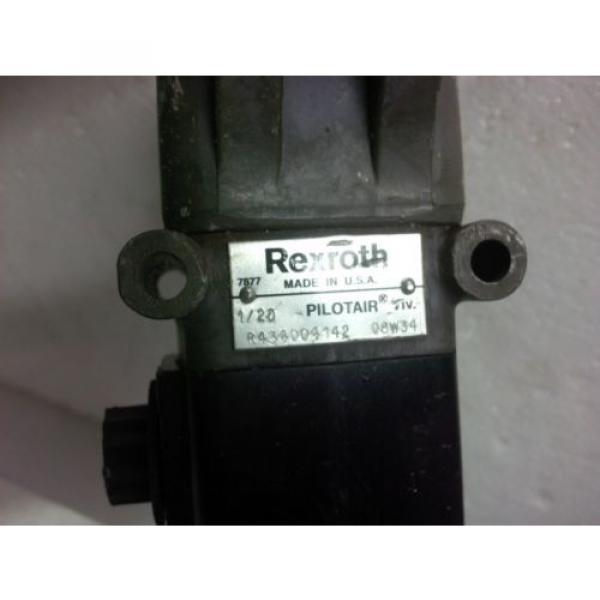 R434004142 D PILOTAIR VALVE Rexroth Aventics 1/2 L/OPER 3 MARINE OFFSHORE #2 image