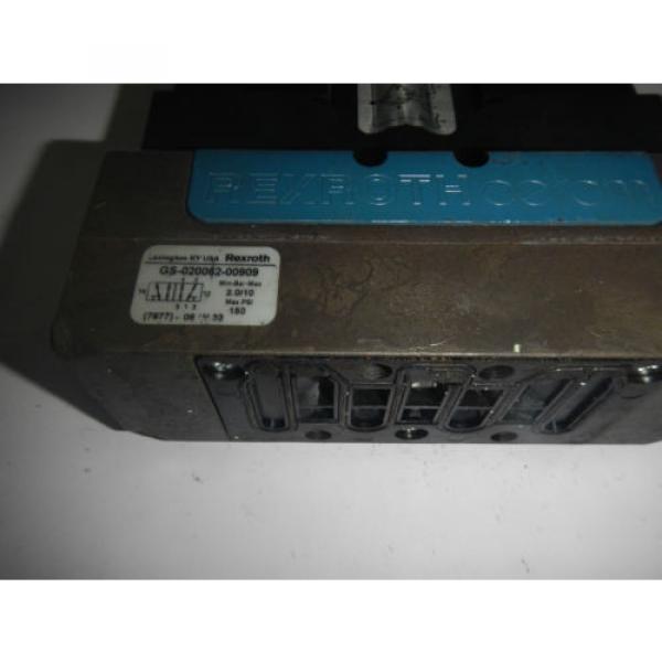 Rexroth GS-020062-00909 24VDC Pneumatic Valve #2 image