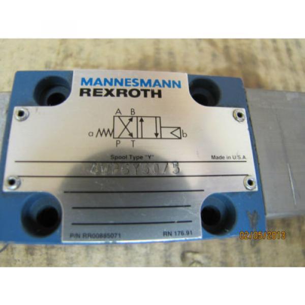 Mannesmann Rexroth Solenoid Valve 4WP6Y50/5 4WP6Y505 origin #2 image