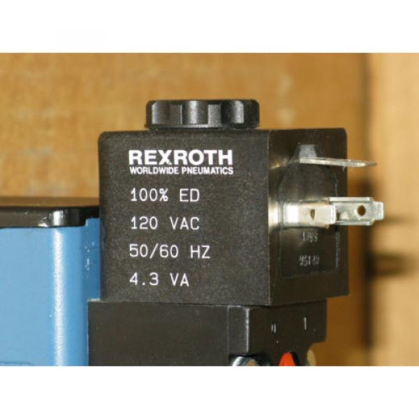 Rexroth Ceram GT10062-2424 120V / 4-Way Directional Slide Valve #5 image