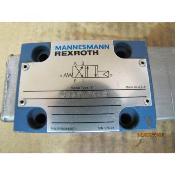 Mannesmann Rexroth Solenoid Valve 4WP6Y50/5 4WP6Y505 origin #7 image