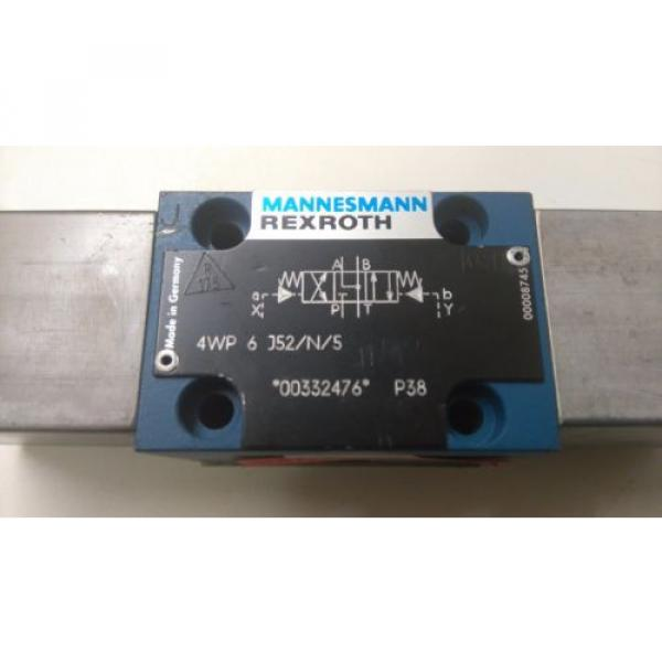 rexroth directional valve 4wp 6 j52/n/5 pneumatic controlled hydraulic valve #2 image