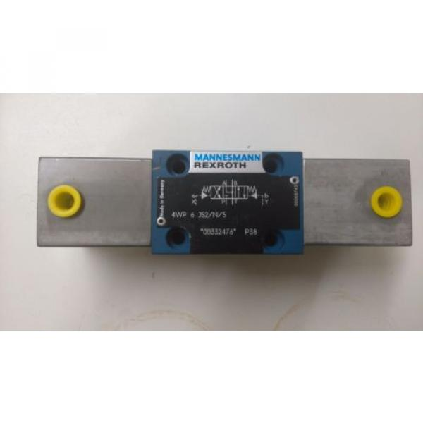 rexroth directional valve 4wp 6 j52/n/5 pneumatic controlled hydraulic valve #3 image