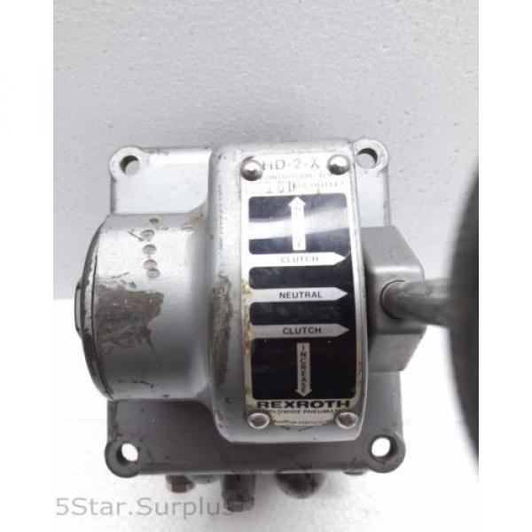 R431002832, REXROTH HD-2-X CONTROLAIR VALVE HD2X P50973-2 #9 image