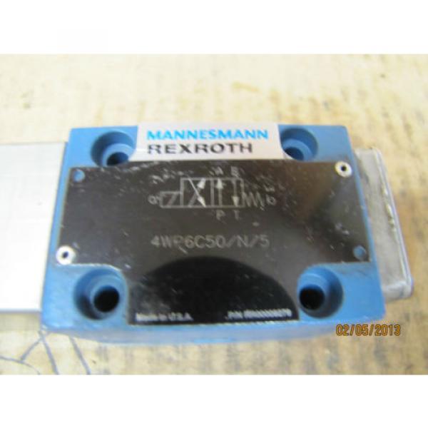 Mannesmann Rexroth Solenoid Valve 4WP6C50/N/5 4WP6C50N5 RR00009279 origin #3 image