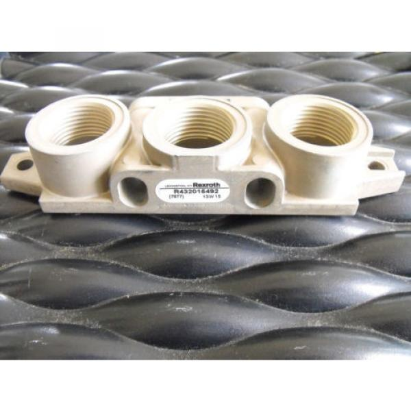 Bosch Rexroth Pneumatic Valve Manifold R432015492  End Kit #1 image