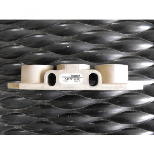 Bosch Rexroth Pneumatic Valve Manifold R432015492  End Kit #5 image