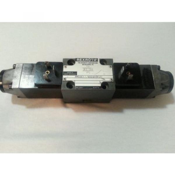 Rexroth Valve 4WE6E51/AG24N9K4V  Used, WARRANTY 4WE6E51 AG24N9K4V #1 image
