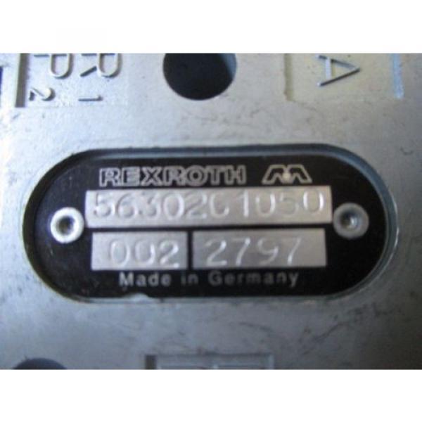 REXROTH PUSH BUTTON VALVE 5630201050 #3 image