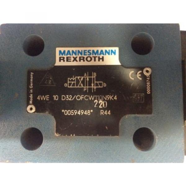 4WE10 D 3X/OFC W110 N9K4 Rexroth R983030950 Direction Control Valve,Aventics #2 image