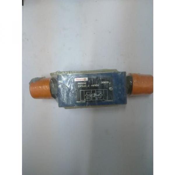 Z2FS6-2-4X/1QV Rexroth R900481623 Twin throttle Sandwich Plate Valve Hydraulics #1 image
