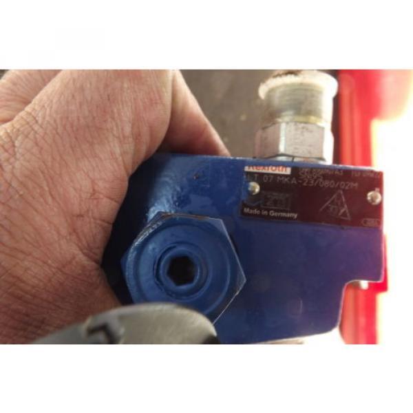 REXROTH BRAKE VALVE LT07 MKA-23/080/02M power brake valve #5 image