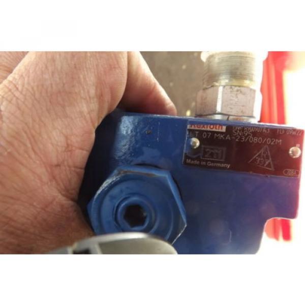 REXROTH BRAKE VALVE LT07 MKA-23/080/02M power brake valve #6 image