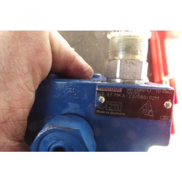REXROTH BRAKE VALVE LT07 MKA-23/080/02M power brake valve #7 image