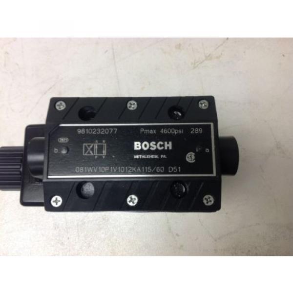 Bosch hydraulic directional control valve 9810232077 #2 image