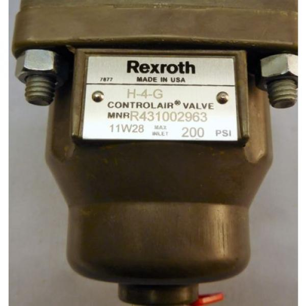 Rexroth Control Air Valve H-4-G , R431002963 #2 image