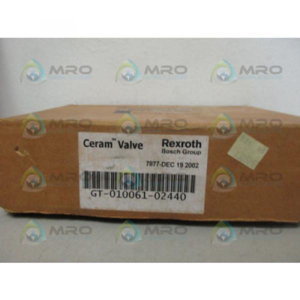 REXROTH GT-010061-02440 CERAM VALVE Origin IN BOX #1 image