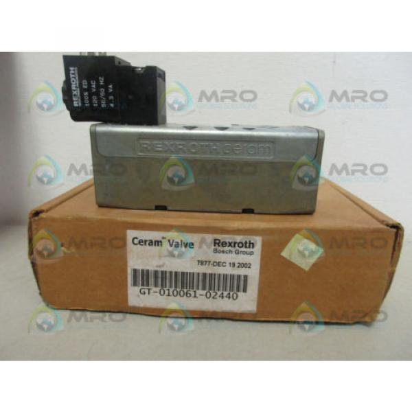 REXROTH GT-010061-02440 CERAM VALVE Origin IN BOX #2 image