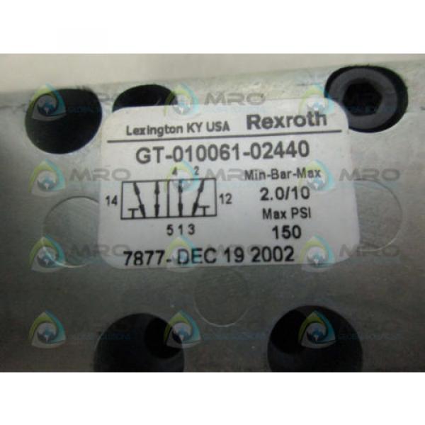 REXROTH GT-010061-02440 CERAM VALVE Origin IN BOX #6 image