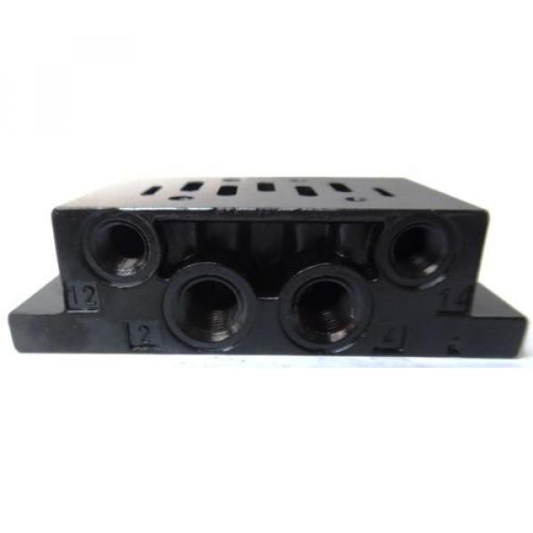 REXROTH, BASE FOR DIRECTIONAL VALVE, 901-F1ATF, P69191-01, 1/2#034; #2 image