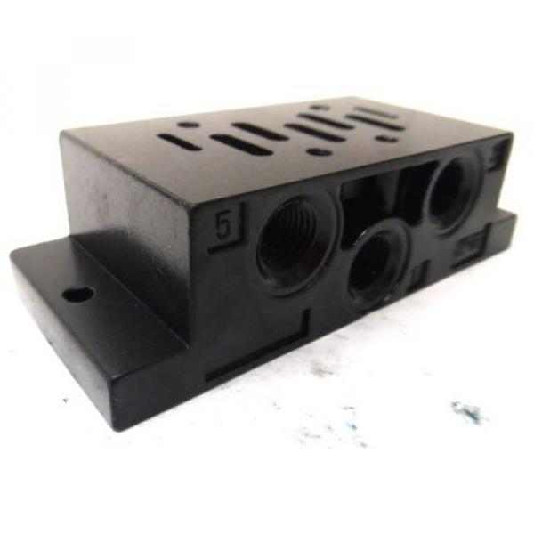 REXROTH, BASE FOR DIRECTIONAL VALVE, 901-F1ATF, P69191-01, 1/2#034; #3 image