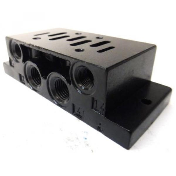 REXROTH, BASE FOR DIRECTIONAL VALVE, 901-F1ATF, P69191-01, 1/2#034; #4 image