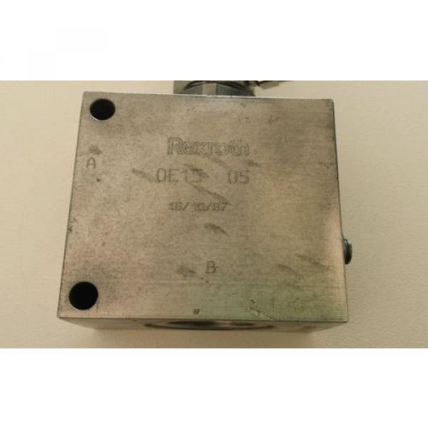 Rexroth Air Operated Hydraulic Check Valve 1#034; BSPP ports #11 image