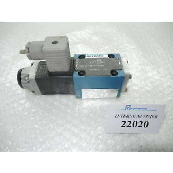 3/2 way valve Rexroth  3WE 6 A53/AG24NZ4, Demag used spare parts #1 image