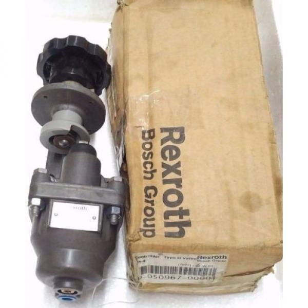 R431002818 REXROTH P50967-1 Aventics Pneumatics  H-4 CONTROL AIR VALVE, 0-65 PSI #1 image