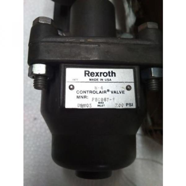 R431002818 REXROTH P50967-1 Aventics Pneumatics  H-4 CONTROL AIR VALVE, 0-65 PSI #2 image
