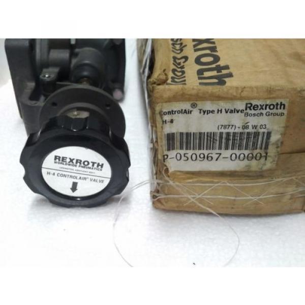 R431002818 REXROTH P50967-1 Aventics Pneumatics  H-4 CONTROL AIR VALVE, 0-65 PSI #7 image