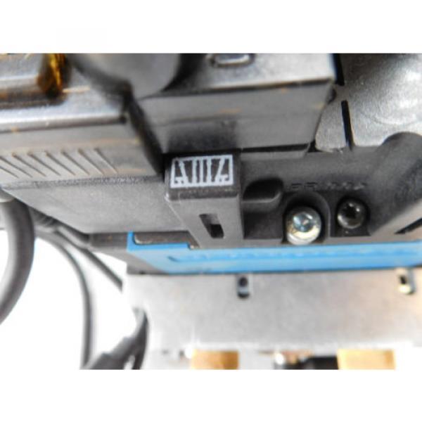 Rexroth Pneumatic Valve terminal mit 4 x rexroth 576360 + rexroth 376351 top 1a #6 image
