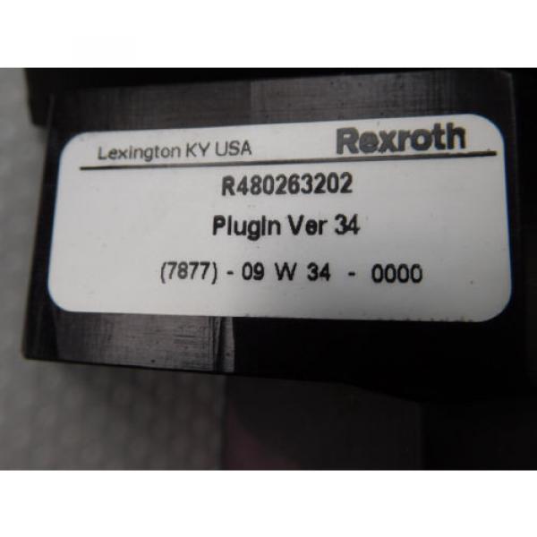 Rexroth Mecman R480263202 Valve terminal mit3 x rexroth 261-108-120-0 unused #3 image