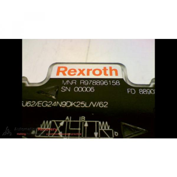 REXROTH R978896158 DOUBLE SOLENOID 4-WAY DIRECTIONAL CONTROL VALVE, Origin #173743 #1 image