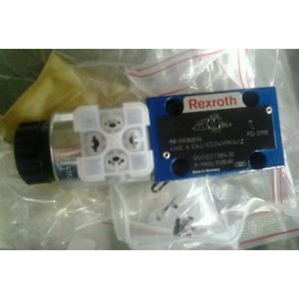 Rexroth hydraulic directional control valve r901068596 Origin 4we 6 d62/eg24n9k4/z #1 image